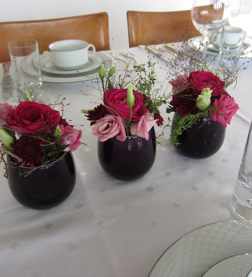 In flowers eventfloristik dolores keller h nenberg for Blumengestecke ideen